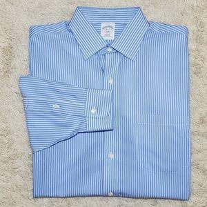 BROOKS BROTHERS Slim Fit Dress Shirt LS 16-2/3 L